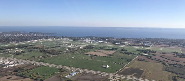 Wittman Regional Airport, the site of Oshkosh AirVenture Fly-In. October 2017