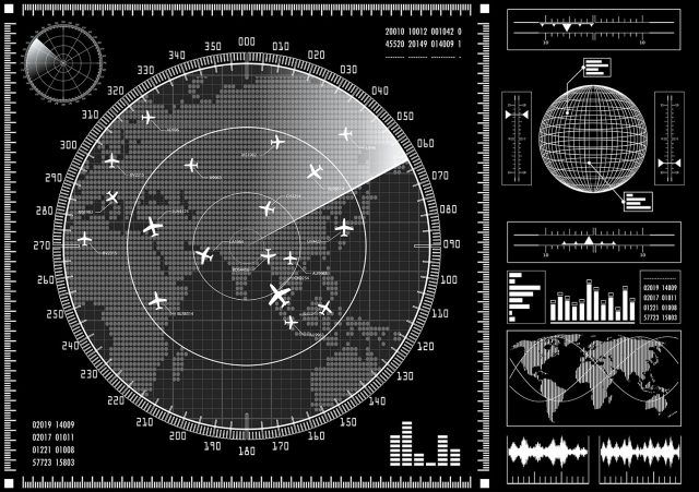 Air traffic radar