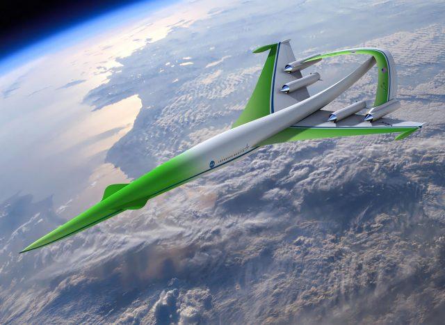 Lockheed Martin supersonic concept design