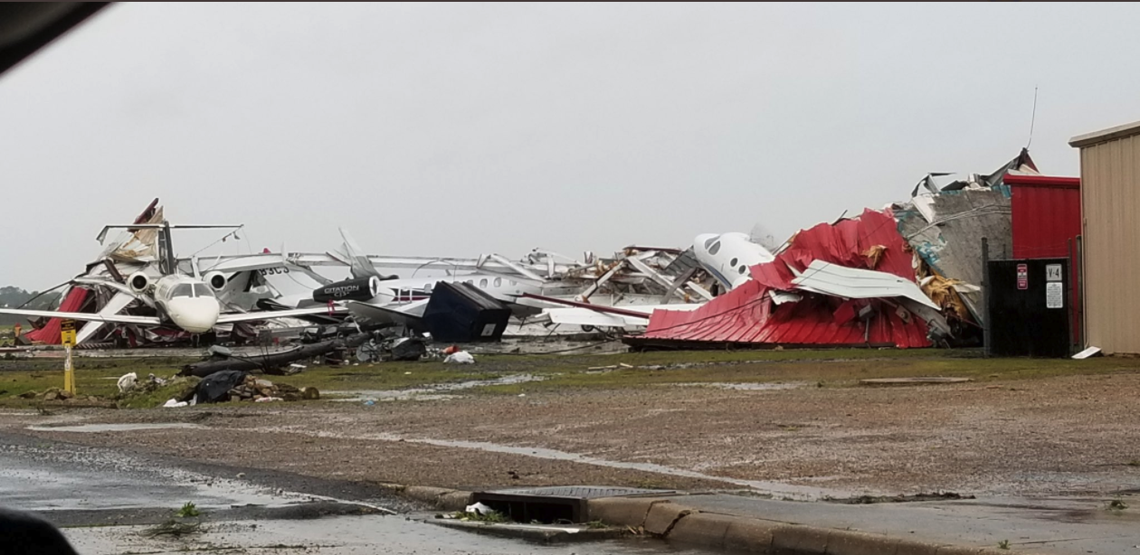 Airports  In Louisiana, South Carolina, Hit By Tornadoes As Storms Devastate Southern States