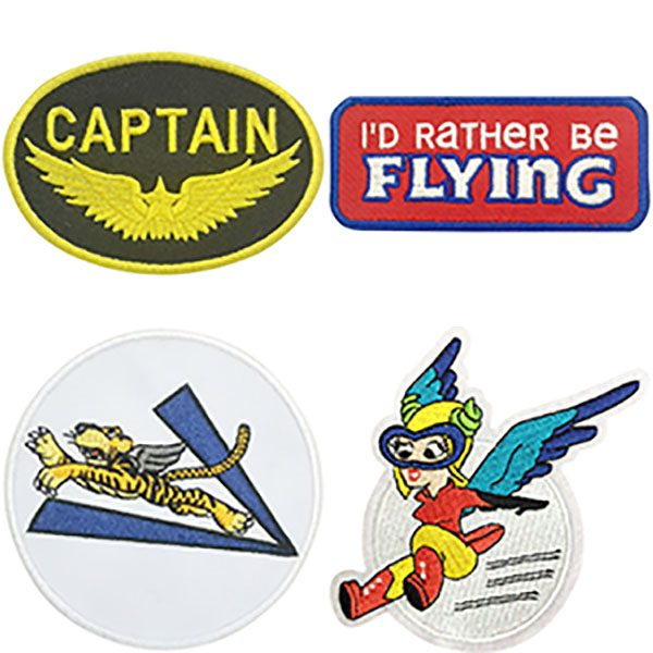 Sunglasses, Embroidered Patches And More Gear For Pilots