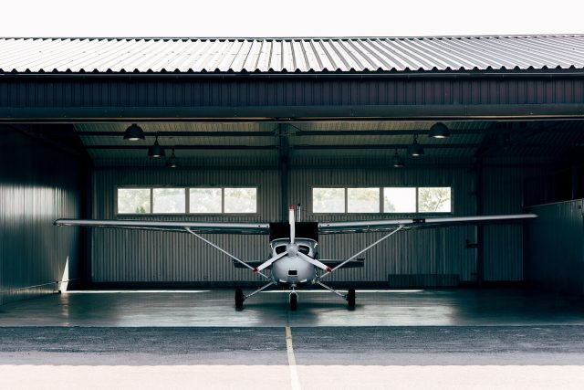 Help your airplane shelter in place.