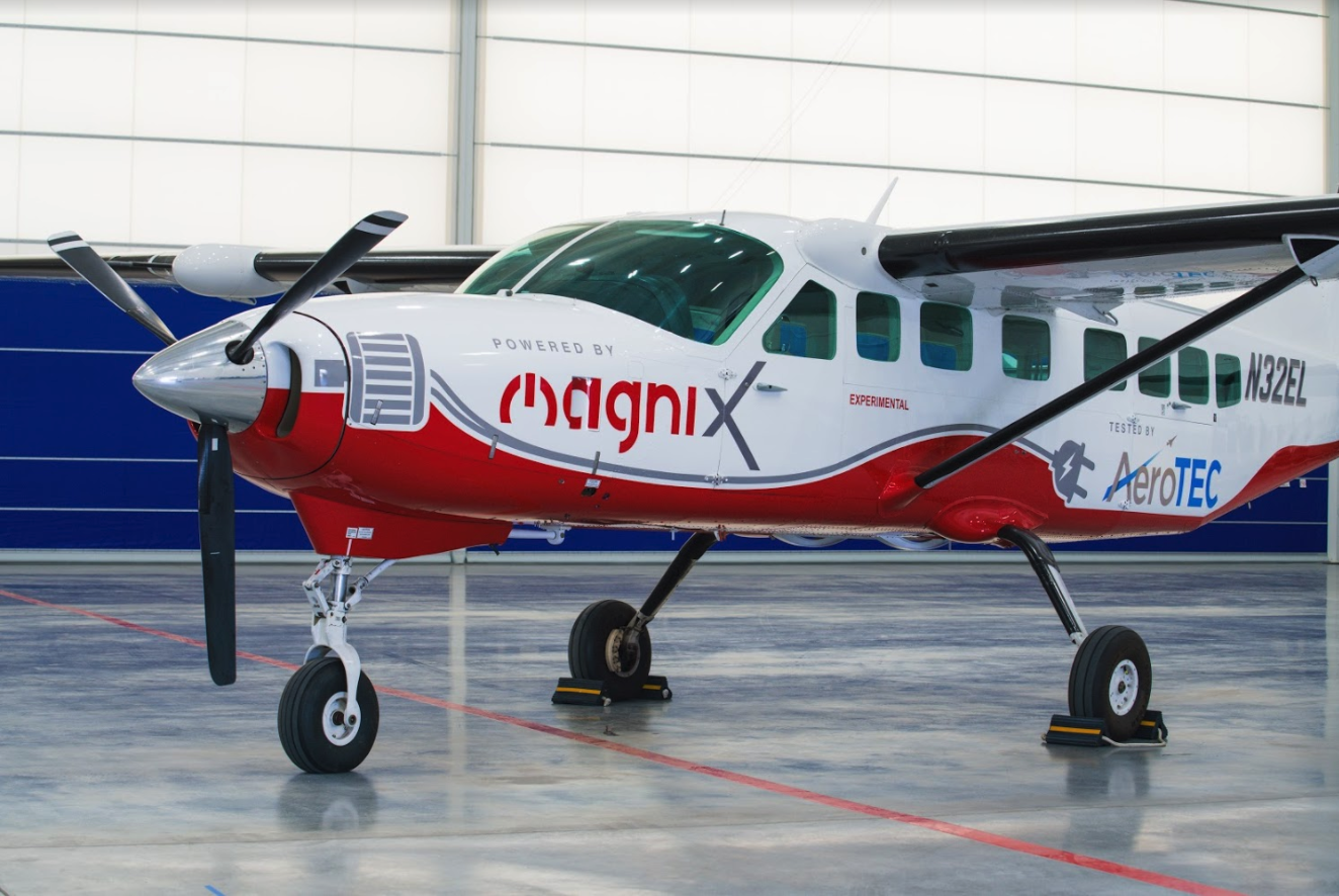This Cessna 208 became the largest all-electric plane to fly.