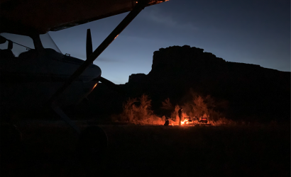Plane & Pilot's Photo of the Week:  Social Distancing Done To Perfection, Cowboy Style