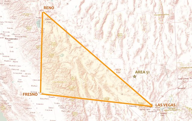 The Nevada Triangle
