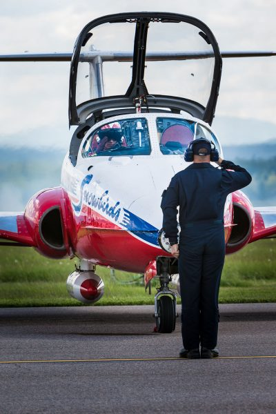 Snowbirds Tudor Jet Crashes In B.C., One Dead