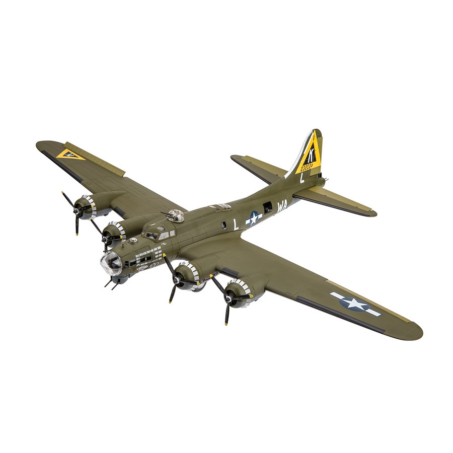 B-17G Flying Fortress Swamp Fire Die-Cast Model