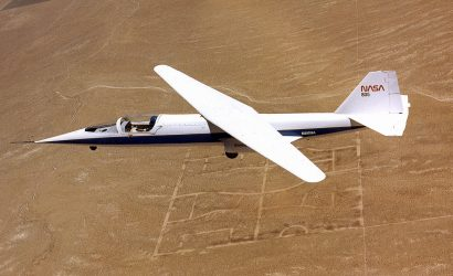 NASA AD-1 Oblique Wing Research Aircraft