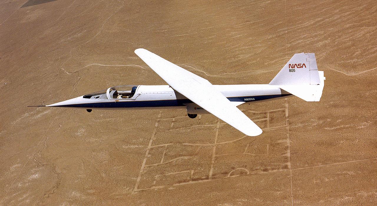 The NASA AD-1