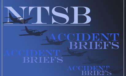 Accident Brief: Piper PA-18 Super Cub Crash In Alaska