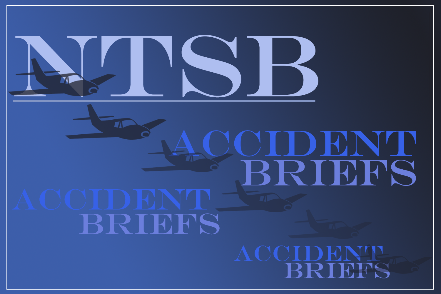 NTSB accident brief