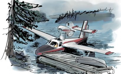 Lessons Learned: A Seaplane Pilot's Wilderness Fishing Flight Gets Weathered