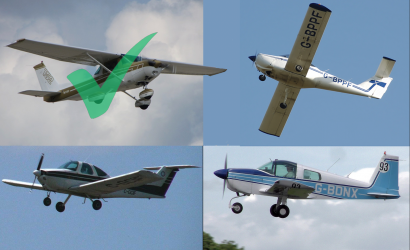 Quiz Time: Just Plane Different