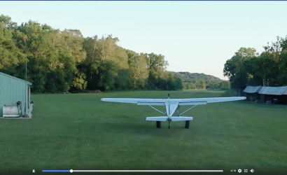 Plane & Pilot Video Of The Week: Close Call With Bambi Captured On Drone Video!