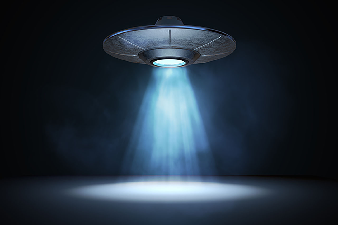 Alien Spacecraft Of Roswell, New Mexico