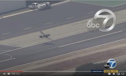 Video: He's Okay! Pilot In Insane Crash Somehow Survives Cartwheel After Balked Landing