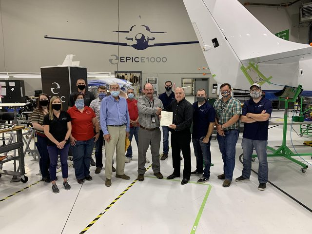 Epic Earns FAA Production Certification for E1000