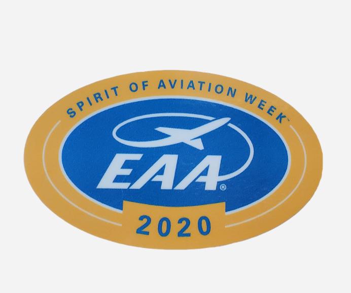 Spirit Of Aviation Week Sticker