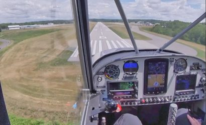 Plane & Pilot Photo/Video Of The Week: Autoland In A Husky?
