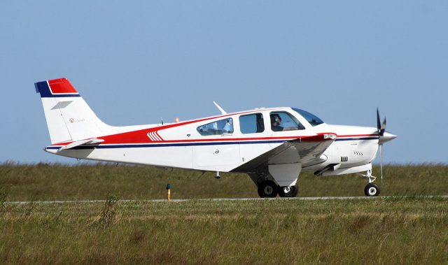 A Bonanza F-33 similar to the accident airplane.