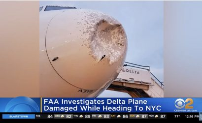 Breaking News: Drone or Bird Strike Forces Delta Plane To Land At JFK