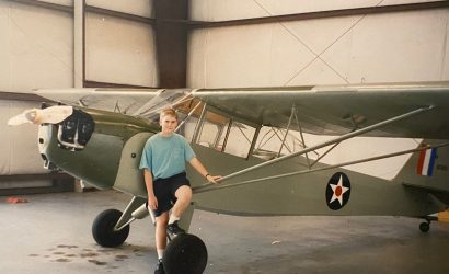 Words Aloft: Flying To Oshkosh As A Teenager