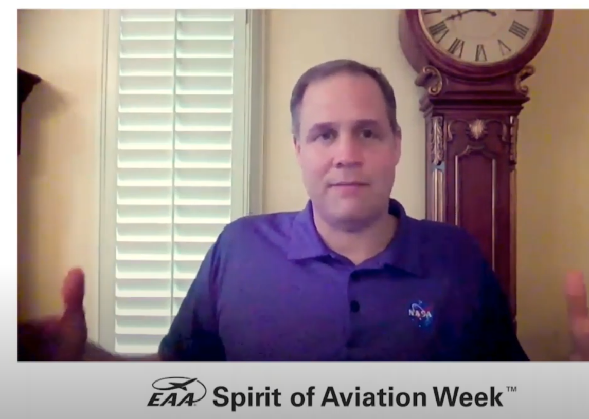 In a video conversation with EAA leader Jack Pelton, Jim Bridenstine said future planes will be safer without pilots.