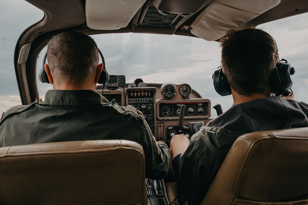 Pilots in turbulence.