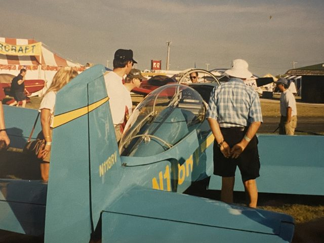 A plane at EAA AirVenture Oshkosh. Photo by Jeremy King