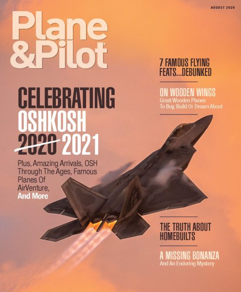 August 2020 Issue of Plane & Pilot
