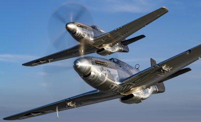 Plane & Pilot Photo Of The Week:  P-51s Shine Bright