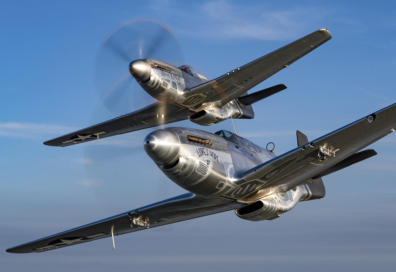 P-51s Shine Bright