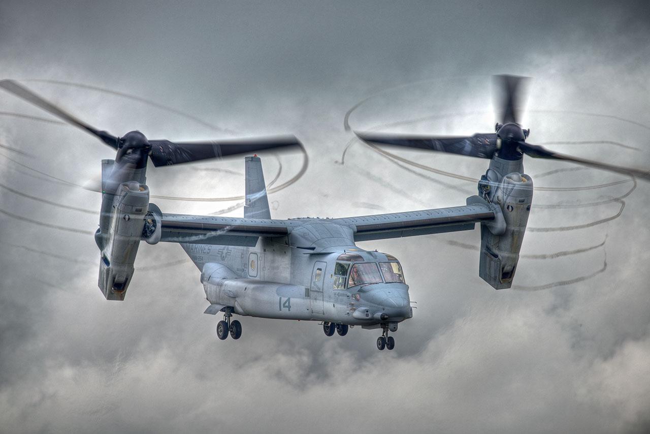 V-22 Osprey. Photo by Peter Groneman via flickr