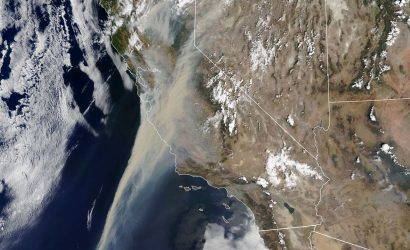 Plane & Pilot Photo Of The Week: Western Wildfires From Space