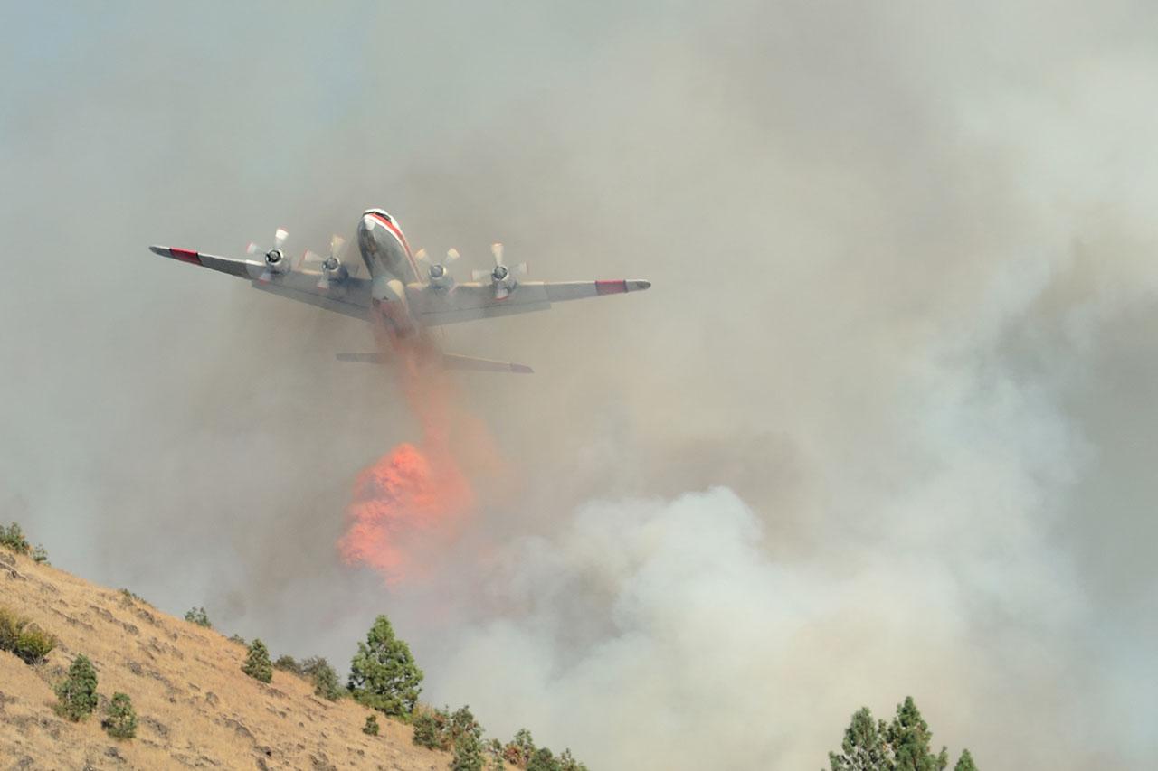 Firefighting Airplane