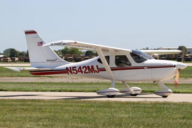 A Glasair Sportsman 2+2. Available today in a quick-built kit, the plane is more popular than ever.