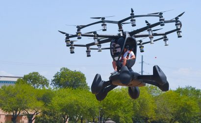 Hexa Personal Multicopter In Army Flight Tests
