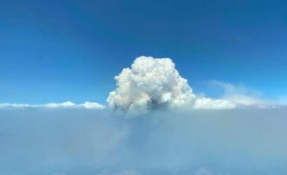 Our Plane & Pilot Photo Of The Week: What's A Pyrocumulus Cloud?