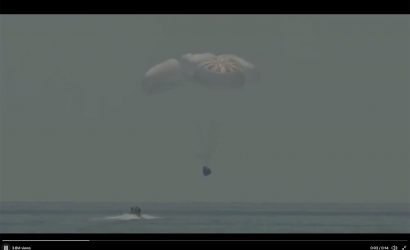 SpaceX Crew Dragon Capsule Back On Earth