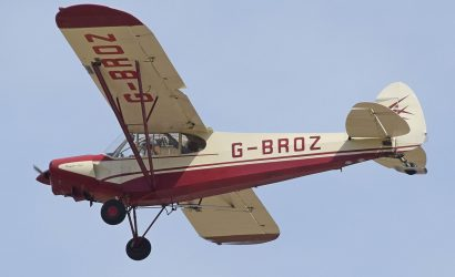A Super Cub Biplane And The Top Ten Planes Of All Time