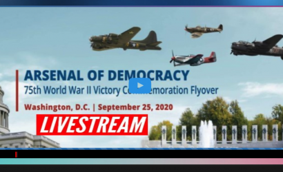 Warbirds Fly Over D.C. En Masse Commemorating 75 Years Since The End of WWII
