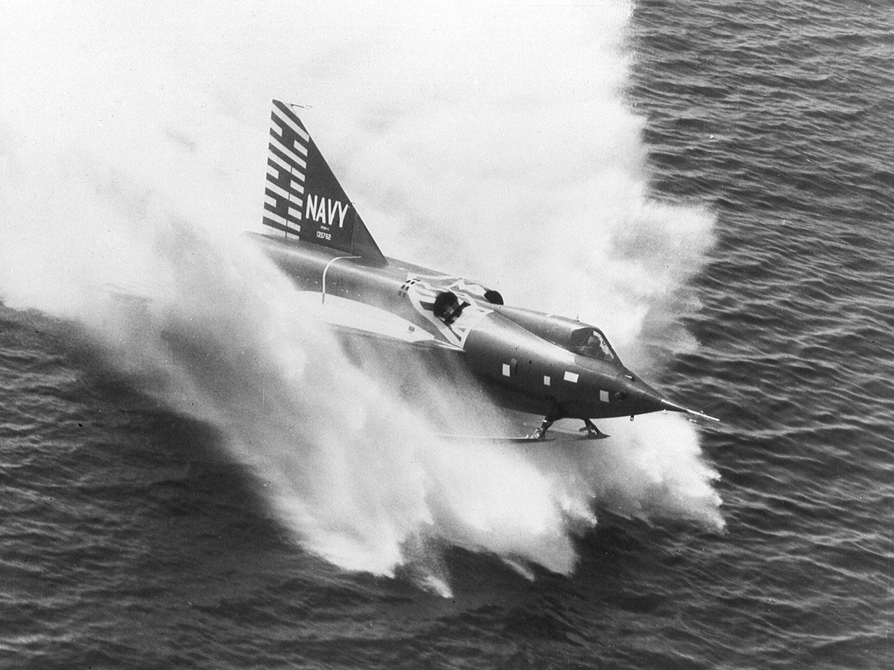 The Convair F2Y Sea Dart