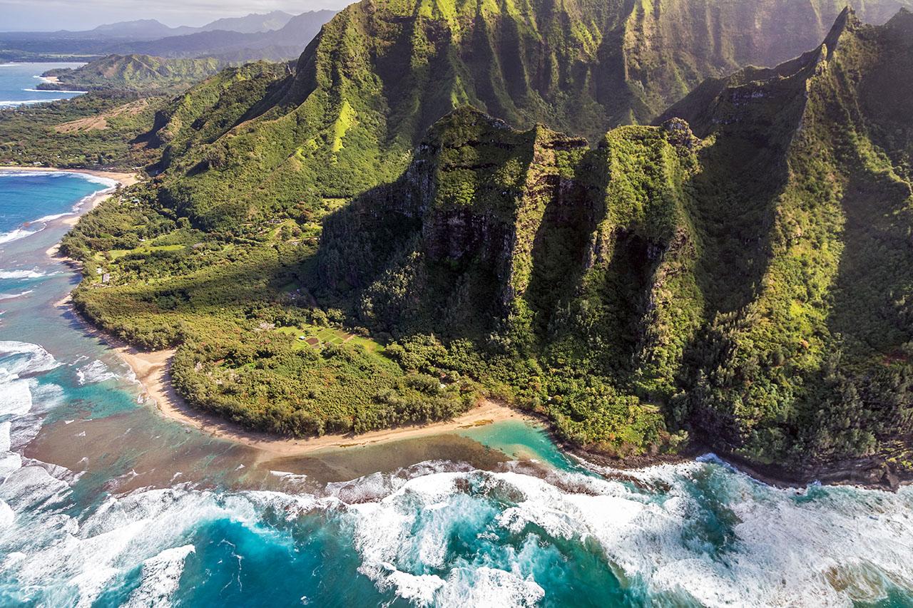 Kee Beach, Kauai, Hawaii