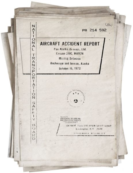 Cover of the NTSB accident report.