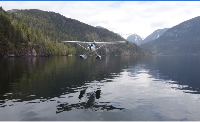 Video: Wild And Gorgeous Seaplane Takeoff/Fly-By