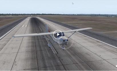 Plane & Pilot Video Of The Week #2: What Happens When You Land A Skyhawk in a 65-Knot Headwind?