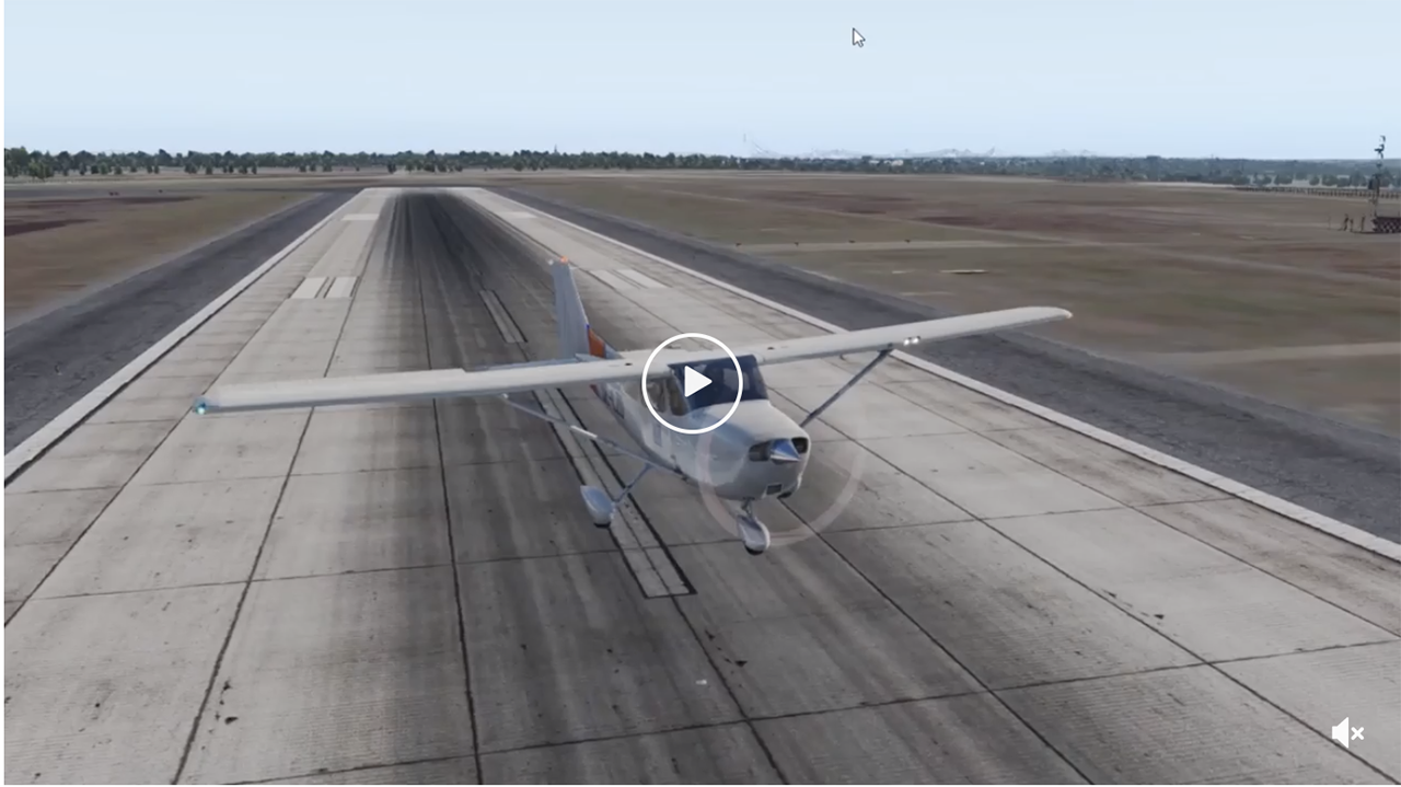 A Microsoft Flight Simulator video shows what happens when a pilot tries to land a Skyhawk in a 65-knot headwind.