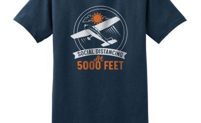 Pilot Gear: Social Distancing T-Shirt, Microsoft Flight Simulator, And More