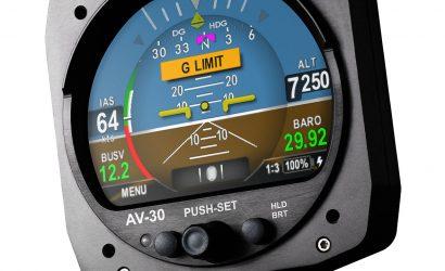 uAvionix Gets FAA Certification For AV-30 Low-Cost Primary Display