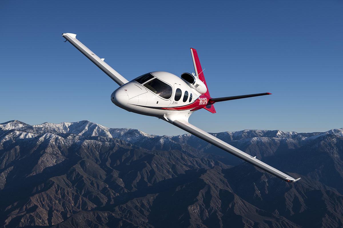 Cirrus SF-50 Vision Jet. Photo Courtesy of Cirrus